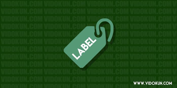 Cara Menyembunyikan Label Tertentu di Halaman Depan Blogspot