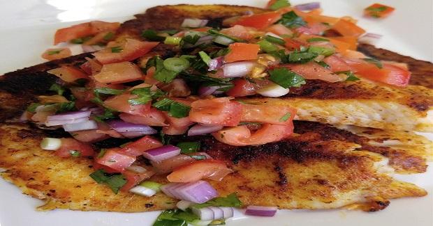 Gluten Free Blackened Tilapia Recipe