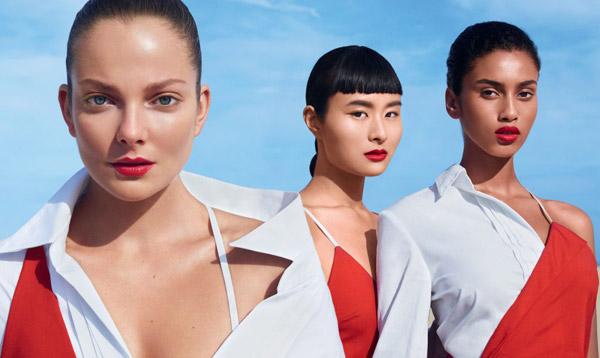 colección de barras de labios rojos Rouge Rouge de Shiseido