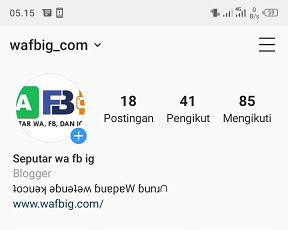 2 Cara Membuat Tulisan Terbalik Di Bio Instagram Android