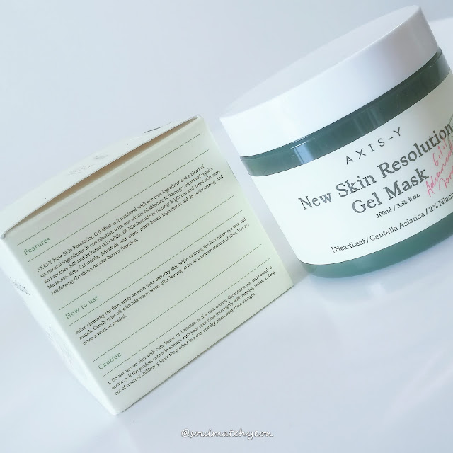 Review; AXIS-Y New Skin Resolution Gel Mask