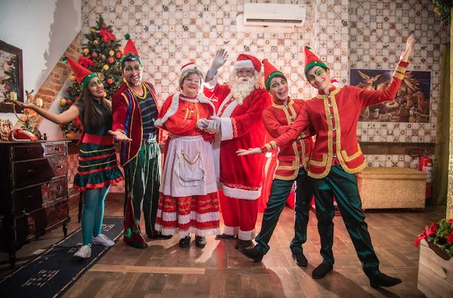 """A Casa Mágica do Papai Noel"" traz a magia do Natal no Paulista North Way Shopping"