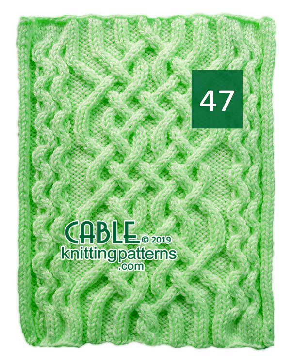Cable Knitting Pattern 47