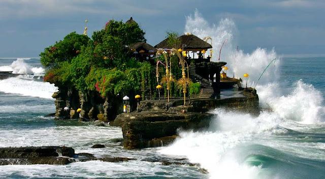 Tanah Lot Temple at Bali