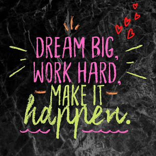 Dream Big Work Hard Make it Happen Motivational Quotes whatsapp