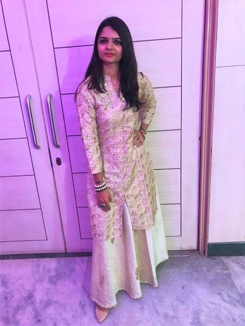 Golden Lehenga, Wedding Outfit, OOTD, Traditional, Outfit of the day
