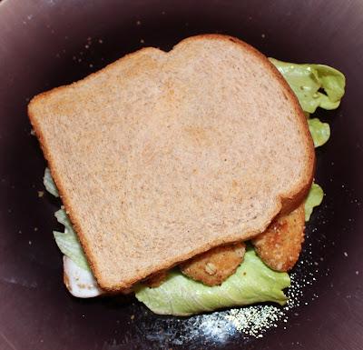 Gardein Chick'n Sandwich