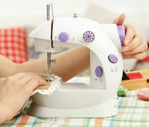 Mini Máquina de Costura Portátil: como usar e onde comprar