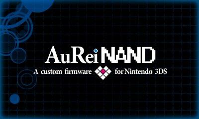 Abril 2016 - AuReiNand - Desbloqueio Nintendo 3DS - Sysnand