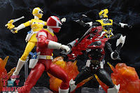 Power Rangers Lightning Collection In Space Red Ranger vs Astronema 93