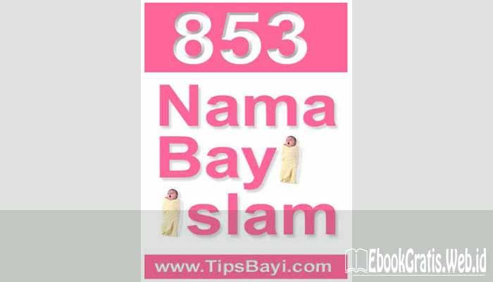 Ebook 853 Nama Bayi Islam