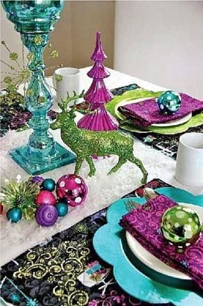 5 1 ideas para decorar tu mesa de navidad decoraci n - Ideas para decorar la mesa de navidad ...