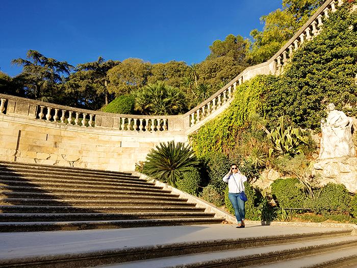 Jardins de la Fontaine Nîmes et Look Automne 06