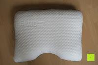 Erfahrungsbericht: sofi Seitenschläferkissen | Orthopädisches & ergonomisches Nackenstützkissen | Thermoregulierender Bezug | Kissen aus Visco-Gelschaum | Kopfkissen 40 x 54 x 11 cm