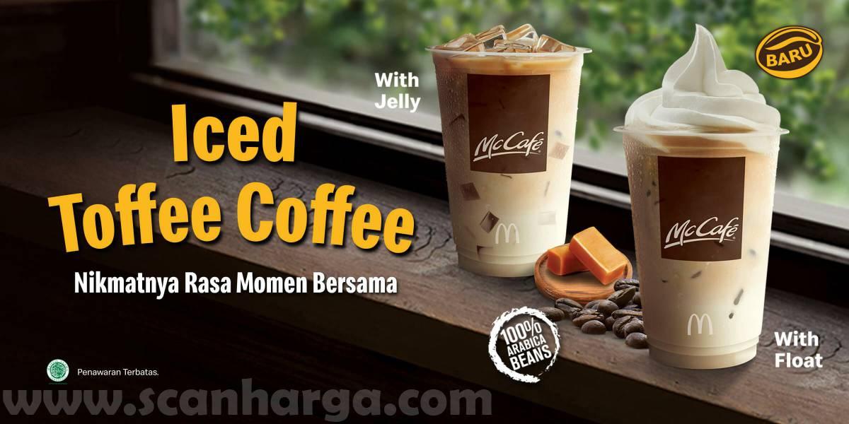Menu Minuman Baru McD Iced Toffee Coffee