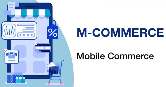 business benefits m-commerce mobile e-commerce smartphone shopping