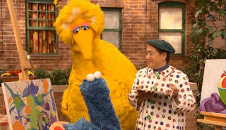 Sesame Street Still Life with cookies