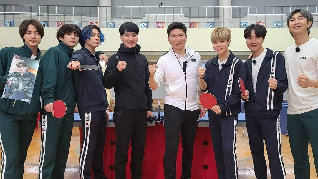Ryu Seung Min, Chairman of The Korean Table Tennis Association Give Compliments After Working with BTS