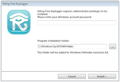 Keylogger Needs Admin Privileges
