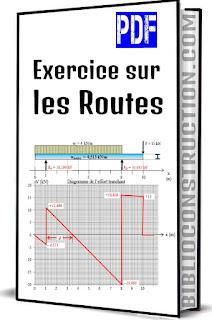 exercice sur les routes pdf,  cours de routes, outils livres exercices    , livres exercices et,