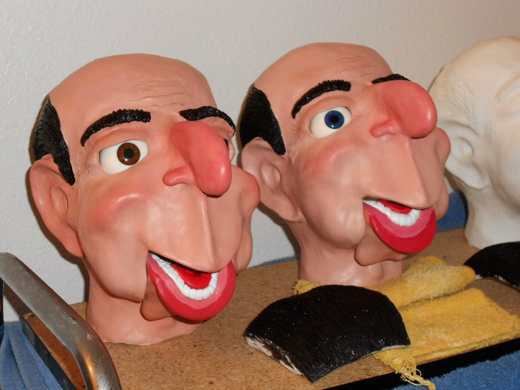 Ventriloquist Dummies, Puppets, And Figures By MontanaDan
