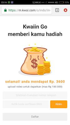 Cara dapat uang dari Kwai Go