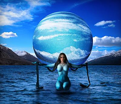 Avatar Body Paint Costume