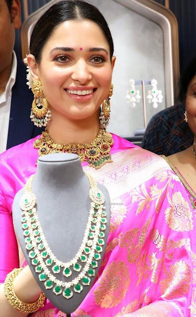 Tamannah at Malabar Gold Jewellers