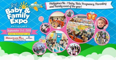 Exciting Rewards Await You At The 3rd Baby and Family Expo 2015