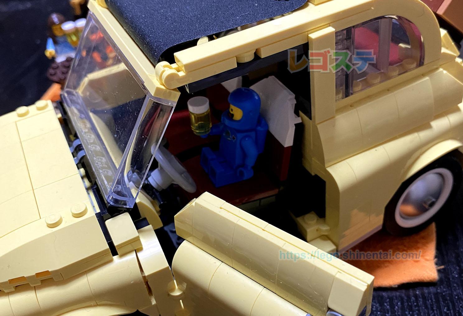 レゴ(LEGO)レビュー:10271 フィアット500:クリエイター・エキスパート