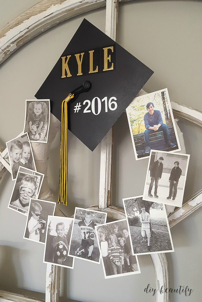 Graduation Memory Wreath | DIY beautify - Creating Beauty ...