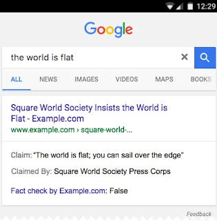 Google Search Gallery : Fact Check