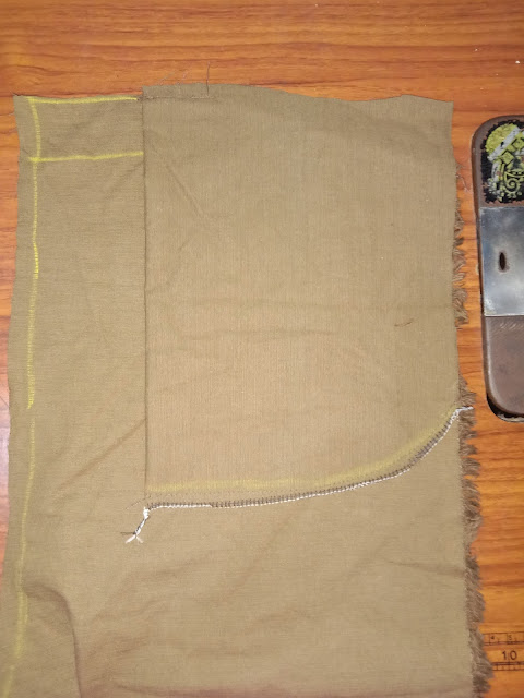 Cara Membuat Saku Samping Miring Pada Rok Atau Celana