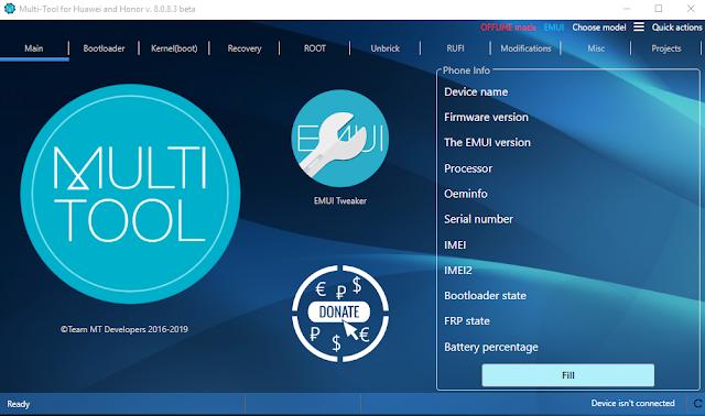 Huawei Multi Tool v8.0.8.3 Beta