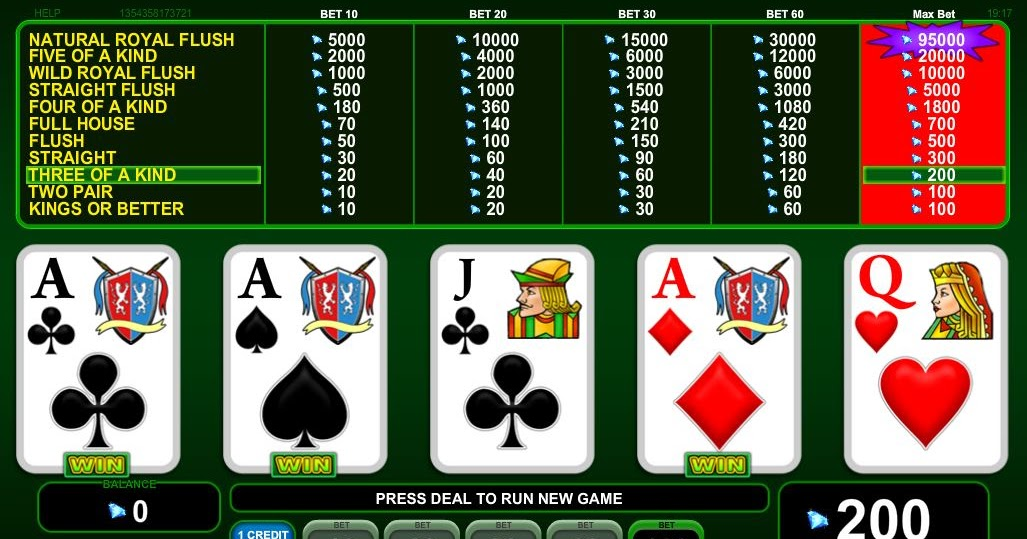 Poker on line gratis