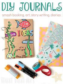 DIY journals for kids