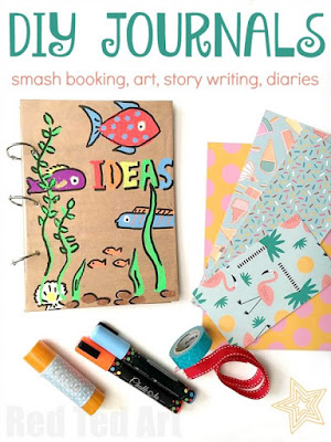 DIY journals for kids