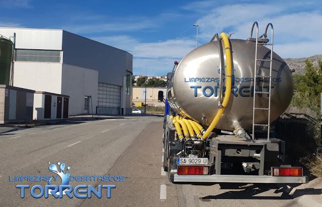Camiones cuba para desatascos en Valencia