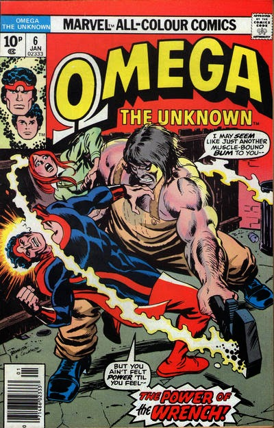 Omega the Unknown #6, The Wrench