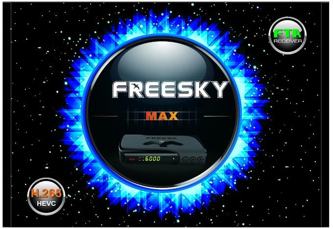 FREESKY MAX STAR NOVA ATUALIZAÇÃO V 2.46 - 26/07/2019
