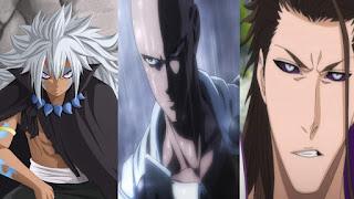 karakter anime over power