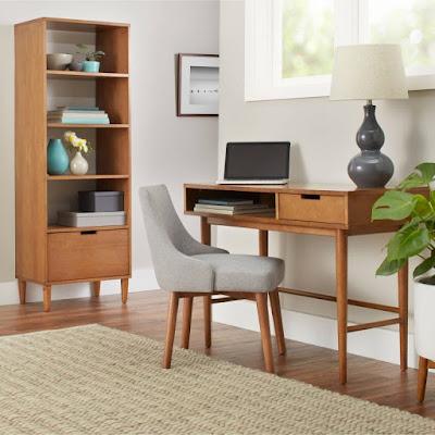 meja belajar anak minimalis kayu jati