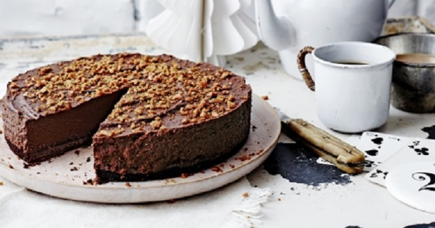Chocolate Truffle Chestnut Torte With Honeycomb Recipe