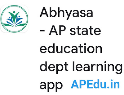 Abhyasa - AP state education dept learning app
