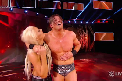 Maryse WWE Miz John Morrison Raw
