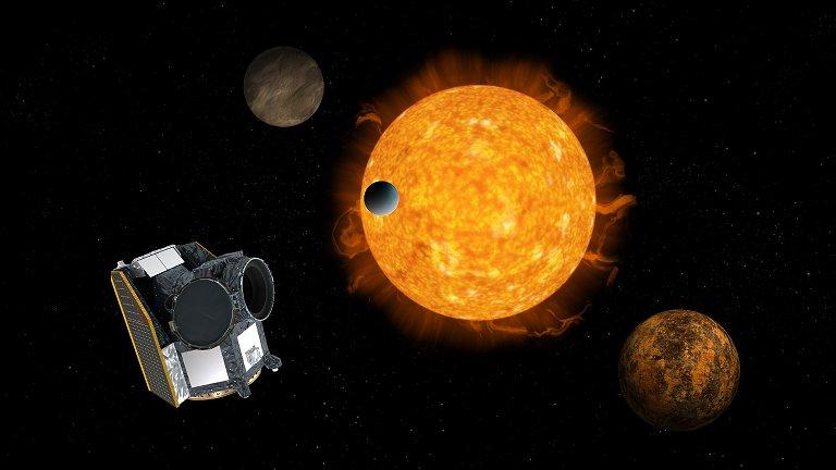 Telescopio Cheops va al espacio para estudiar exoplanetas