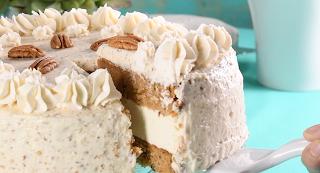 Receta para hacer Pastel de Zanahoria Relleno de Cheesecake