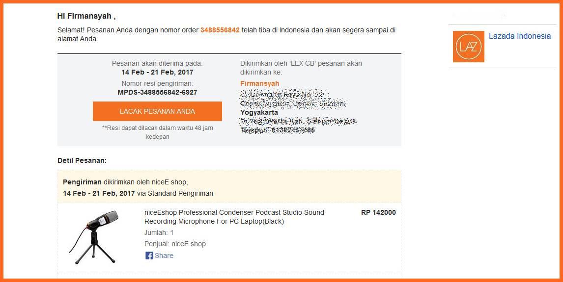 Pengalaman Membeli Barang dari Luar Negeri di Lazada Indonesia  e5834d64c0