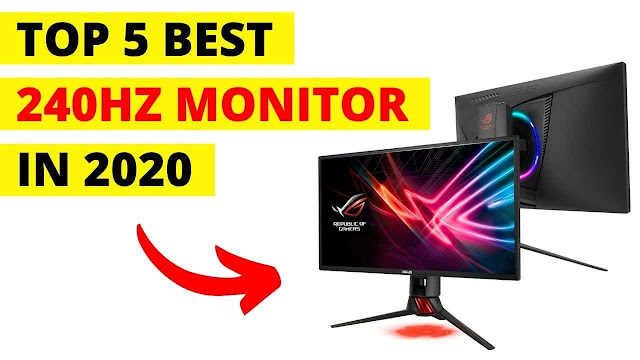 The 5 Best 240hz Monitors in 2020 - Best 240Hz Gaming Monitor 2020 | Dell Alienware 240hz Gaming Monitor