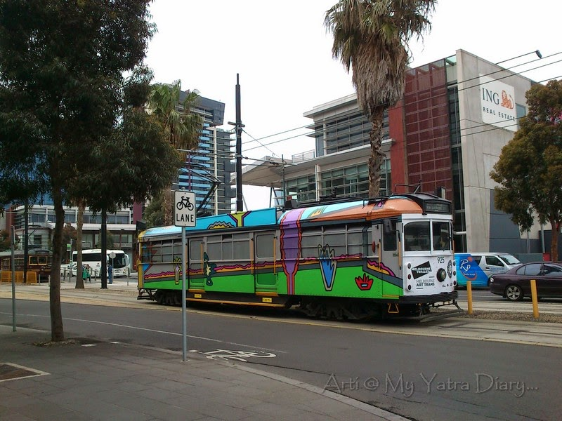 Melbourne Art trams, Melbourne Festival